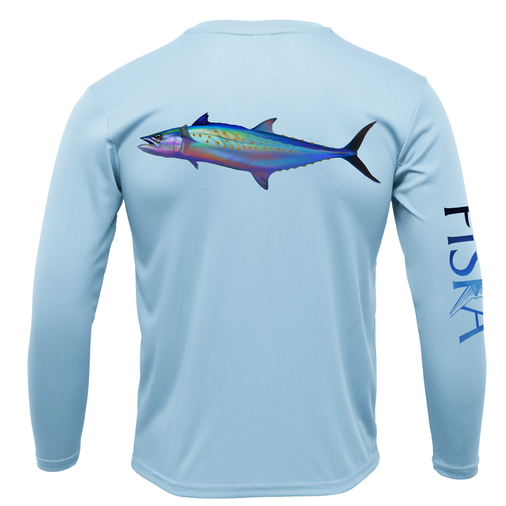 Youth Mackerel Long-Sleeve Dry-Fit Shirt
