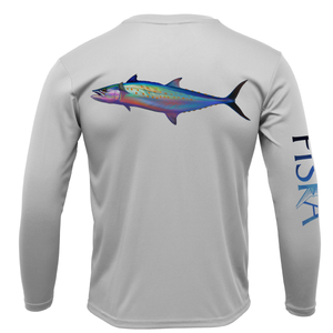 Mackerel Long-Sleeve Dry-Fit Shirt