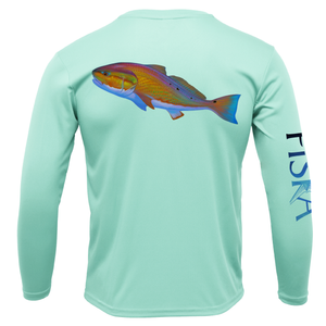 Youth Redfish Long-Sleeve Dry-Fit Shirt