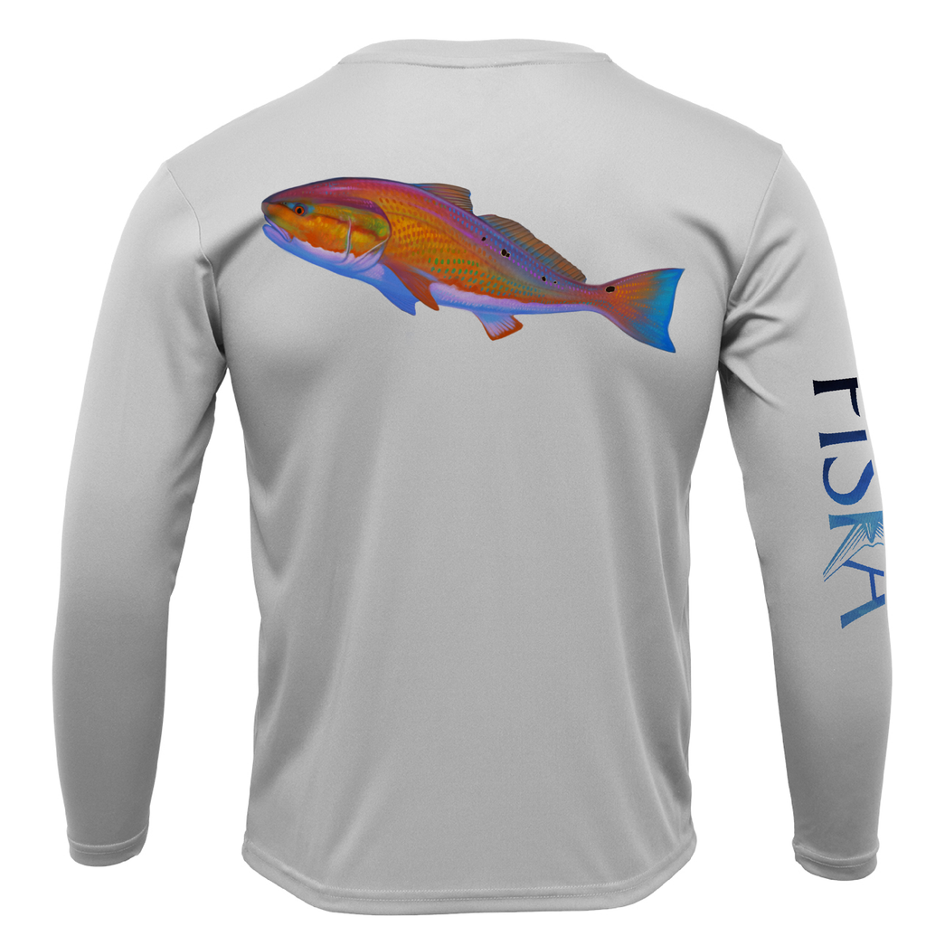Redfish Long-Sleeve Dry-Fit Shirt