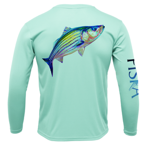 Youth Striper Long-Sleeve Dry-Fit Shirt