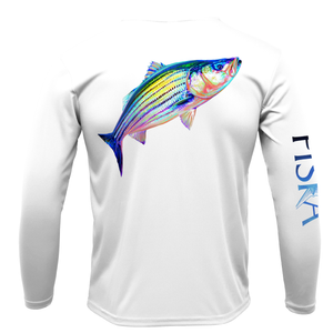 Striper Long-Sleeve Dry-Fit Shirt