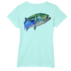 Bluefish Short-Sleeve Dry-Fit T-Shirt