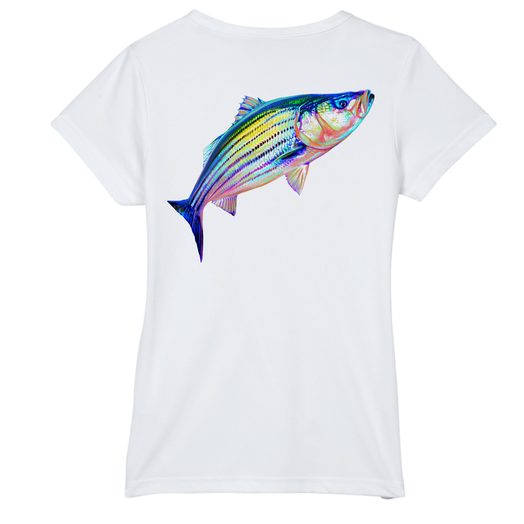 Striper Short-Sleeve Dry-Fit T-Shirt