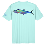 Mackerel Short-Sleeve Dry-Fit Shirt