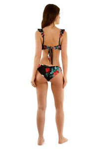 Alma Ruffles and Orchid Medium Bikini