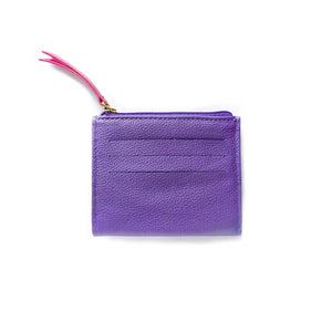 Pocket  Wallet Mix Purple