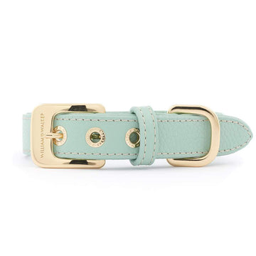 William Walker Leder Hundehalsband Peppermint