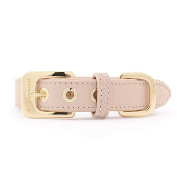 William Walker Leder Hundehalsband Rose