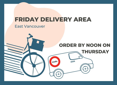 Friday Delivery Areas