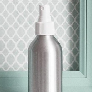 Fillable Aluminum Bottle with Misting Spray - 6oz