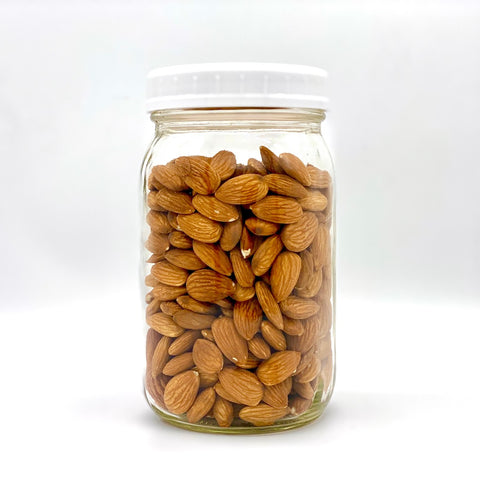 Organic Almonds - 500g - Large Jar