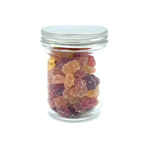 Organic Fruit Bears (vegan) - 250g - Medium Jar