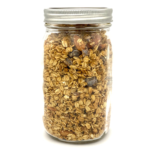 Almond Crunch Granola - Large Jar - 454g