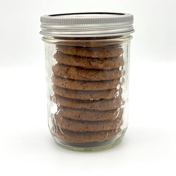 Ginger Snaps - Medium Jar - 10 Cookies