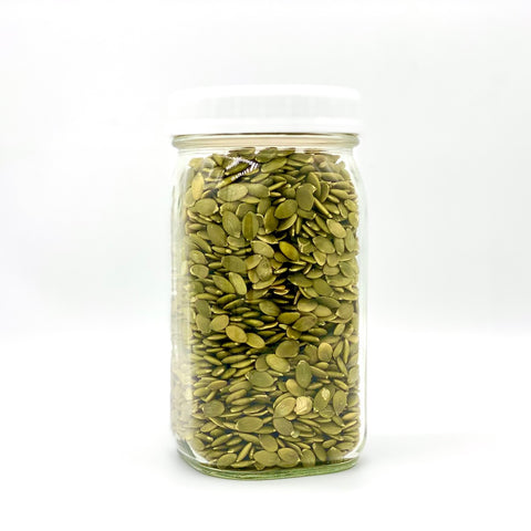 Organic Pumpkin Seeds (Pepitas) - 500g - Large Jar