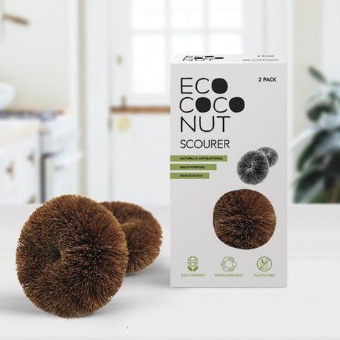 Twin Pack Coconut Scourers