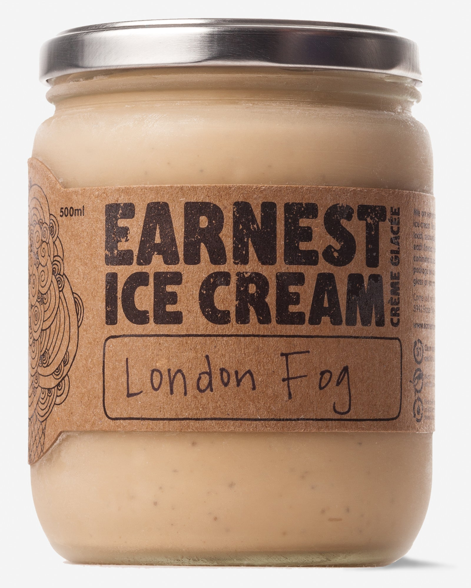 London Fog Ice Cream