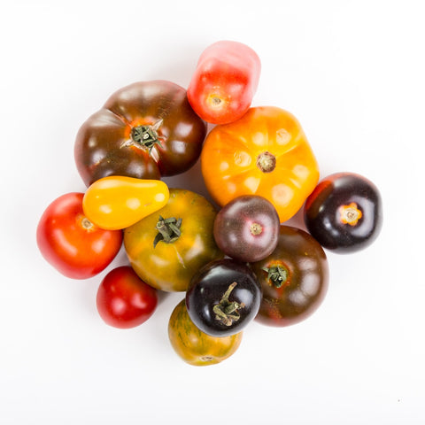 Organic Heirloom Tomatoes - BC - 1lb (2 large)