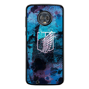 Attack Of Titan FF0005 Motorola Moto G6 Case