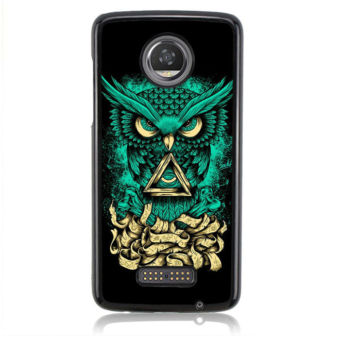 The Owl FF0019 Motorola Moto Z2 Play Case