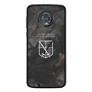 Attack on Titan FF0028 Motorola Moto G6 Case