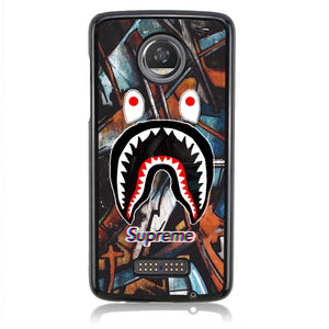 Shark Bape FF0035 Motorola Moto Z2 Play Case