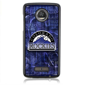 Colorado Rockies FF0051 Motorola Moto Z2 Play Case