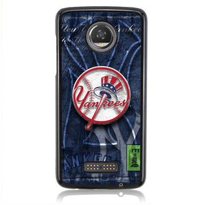 New York Yankees FF0052 Motorola Moto Z2 Play Case