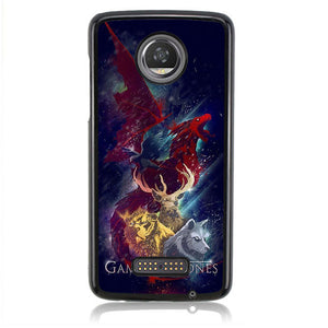 Game of Thrones FF0080 Motorola Moto Z2 Play Case