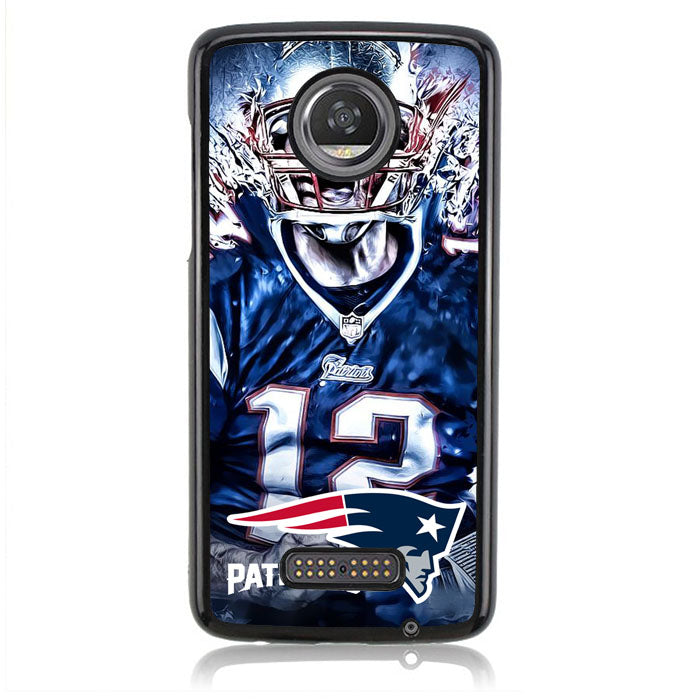 Patriots FF0180 Motorola Moto Z2 Play Case