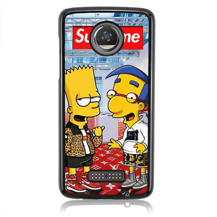 Supreme Simpsons FF0185 Motorola Moto Z2 Play Case