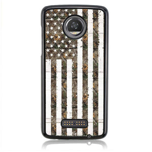 Flag Realtree FF0247 Motorola Moto Z2 Play Case