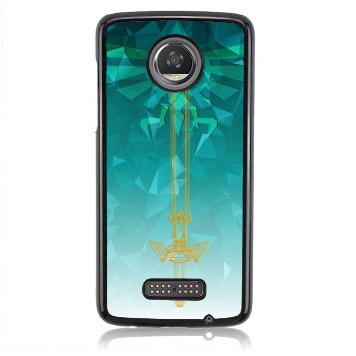 Eagel Triforce Zelda FF0307 Motorola Moto Z2 Play Case