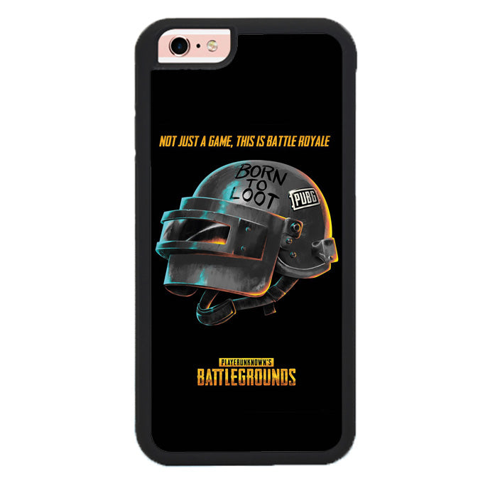 Born To Loot PUBG FF0331 Samsung iPhone 6, 6S Case