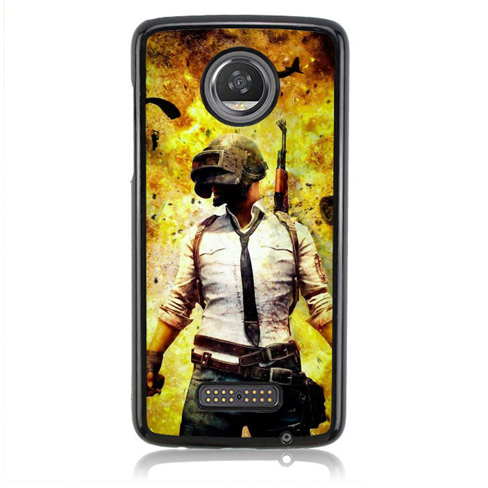 The Ultimate Pubg Battle FF0348 Motorola Moto Z2 Play Case