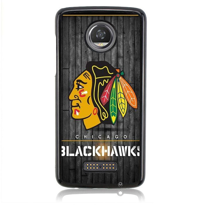 Chicago Blackwaks FF0369 Motorola Moto Z2 Play Case