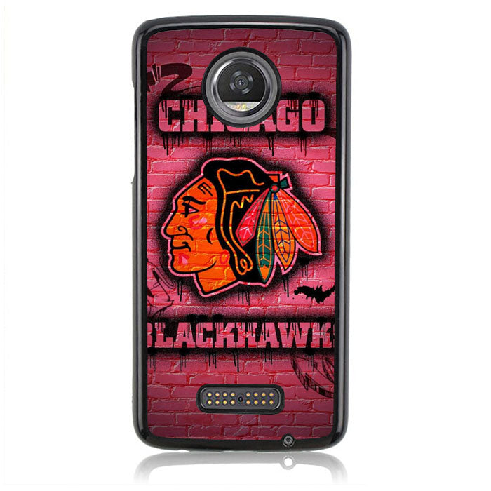 Blackhawks Chicago FF0372 Motorola Moto Z2 Play Case