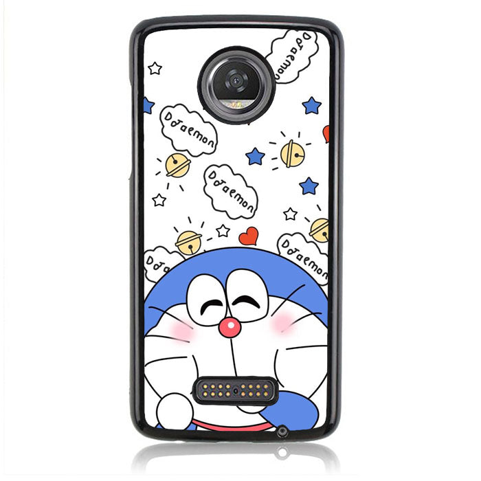 Doraemon White FF0384 Motorola Moto Z2 Play Case