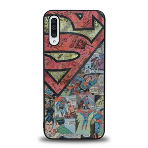 Superman Man of Steel B0010 Samsung Galaxy A50 Case