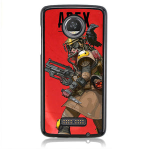 BLOODHOUND APEX LEGEND B0015 Motorola Moto Z2 Play Case