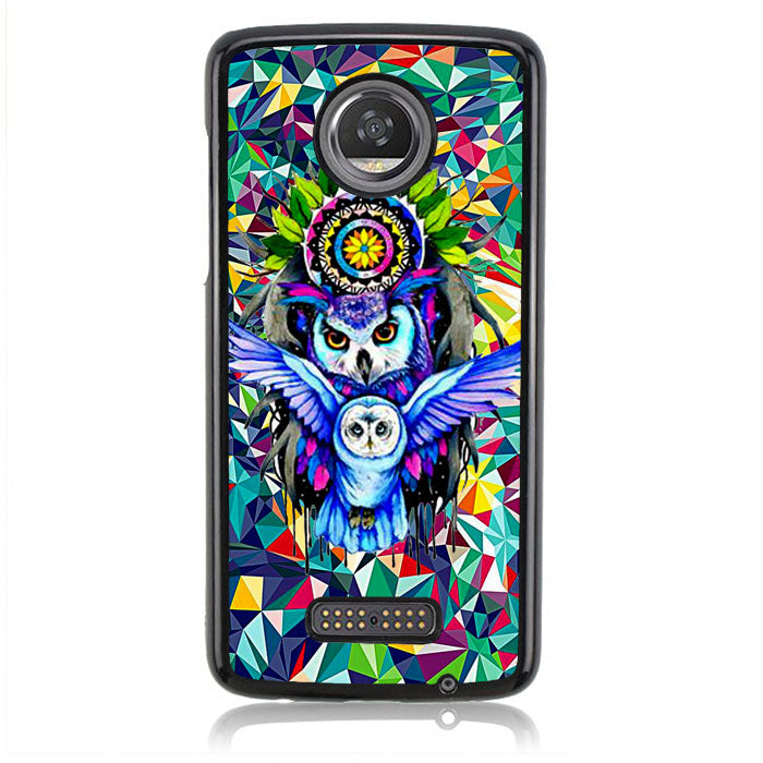 Beautifful of OWL art B0086 Motorola Moto Z2 Play Case