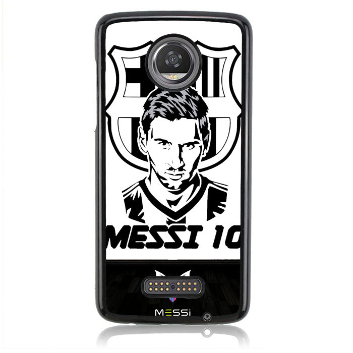 Messi_Logo B0092 Motorola Moto Z2 Play Case