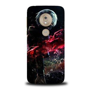 Kaneki Cool Red B0093 Motorola Moto G7 Play Case