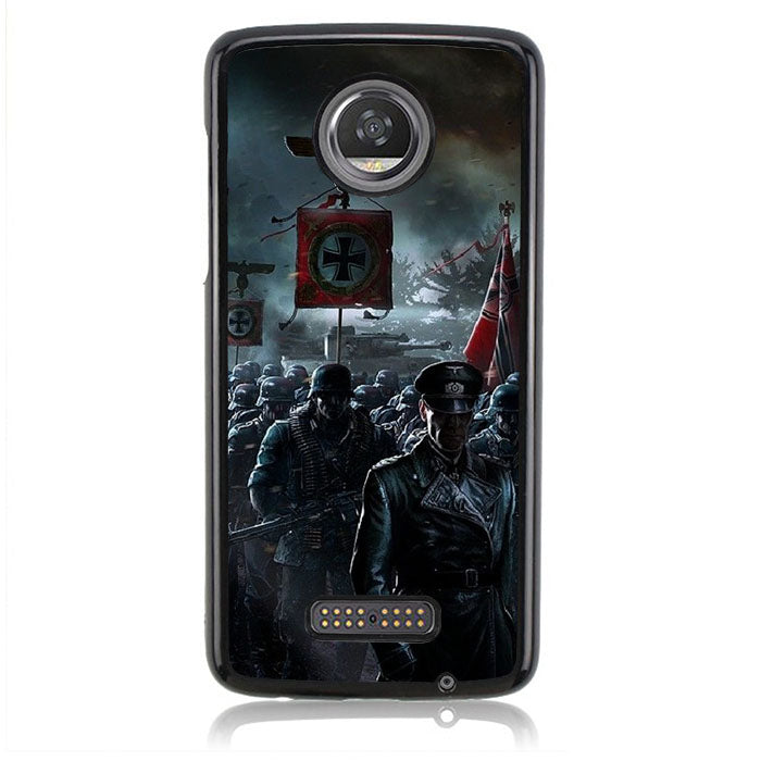 GERMAN SOLDIER B0111 Motorola Moto Z2 Play Case