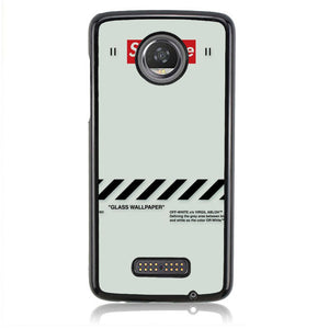 SUPREME OFF WHITE B0153 Motorola Moto Z2 Play Case