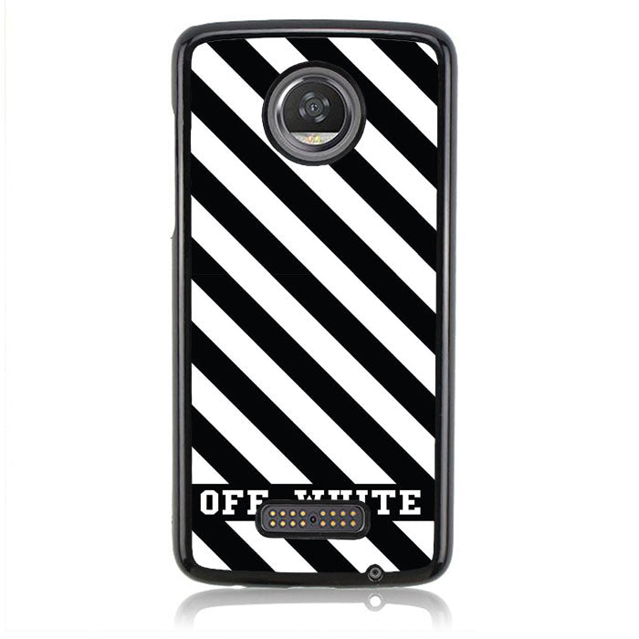 OFF-WHITE B0155 Motorola Moto Z2 Play Case