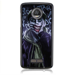 DJOKER FAKE SMILE B0156 Motorola Moto Z2 Play Case