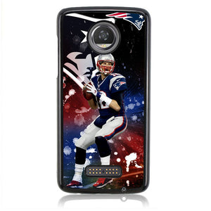TOM BRADY B0172 Motorola Moto Z2 Play Case