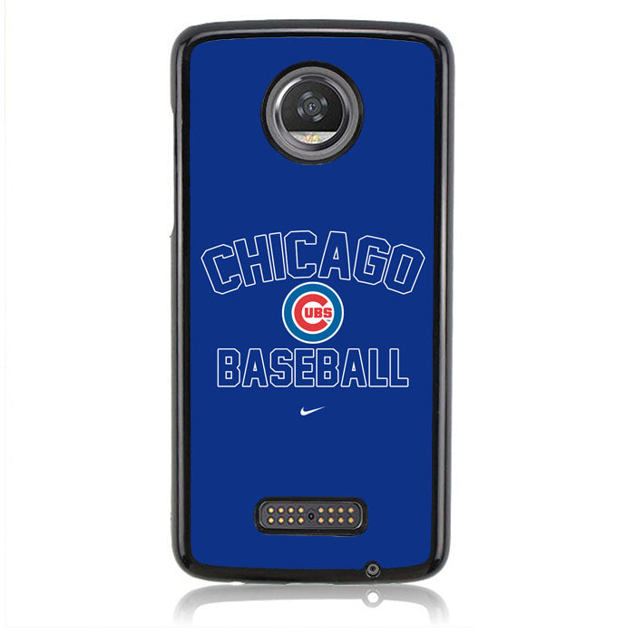 CHICAGO BASEBALL B0180 Motorola Moto Z2 Play Case